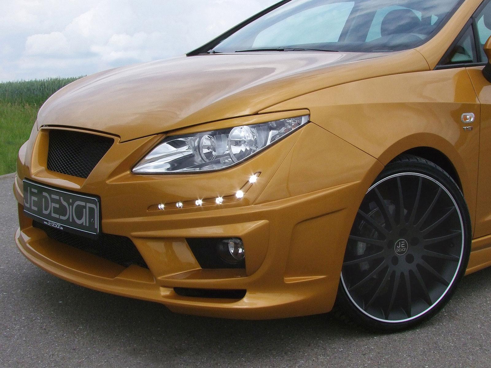 Zlatý Seat Ibiza od JE Design 6