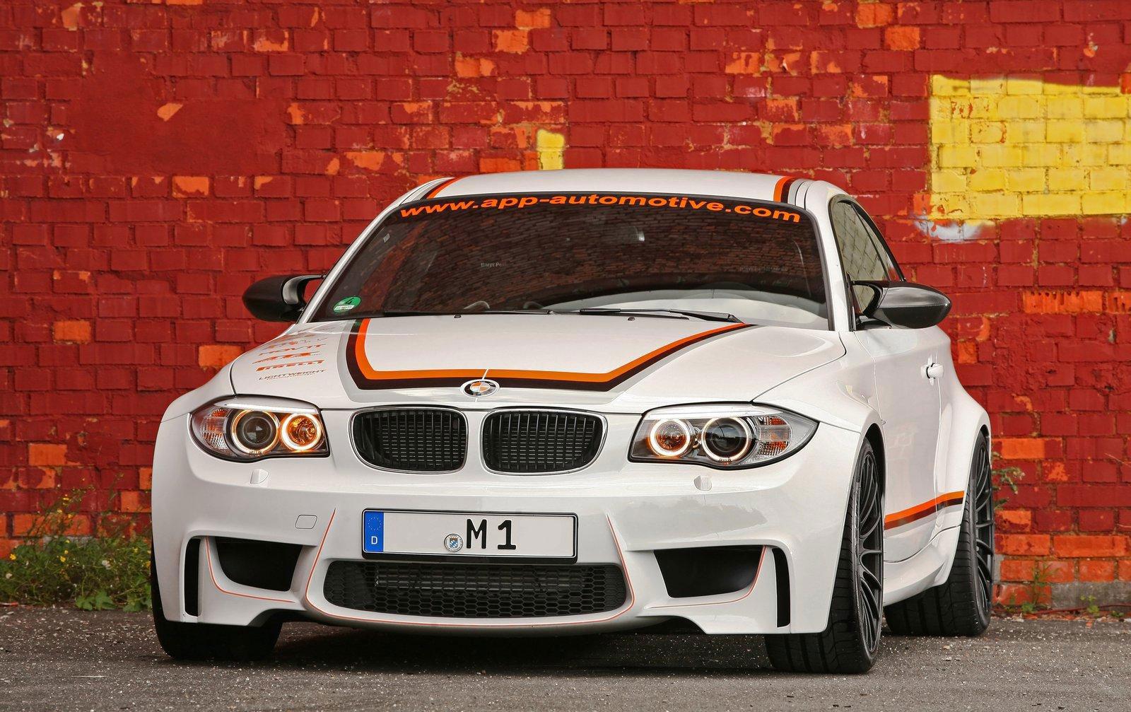 APP Europe představuje BMW 1 M s výkonem 410 koní 2