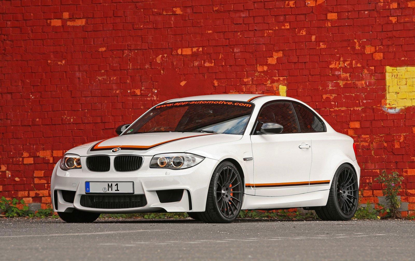 APP Europe představuje BMW 1 M s výkonem 410 koní 8