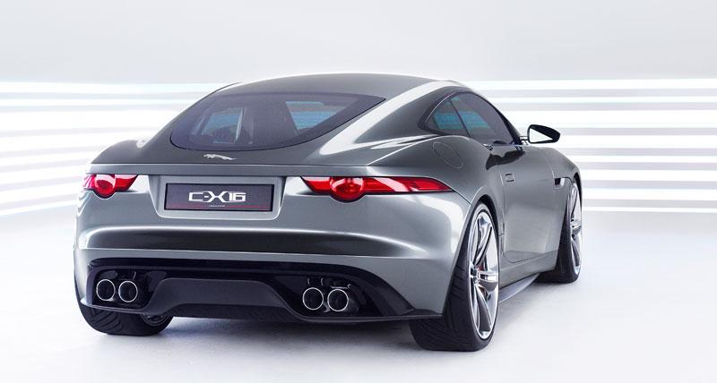 Jaguar ve Frankfurtu představí C-X16 15