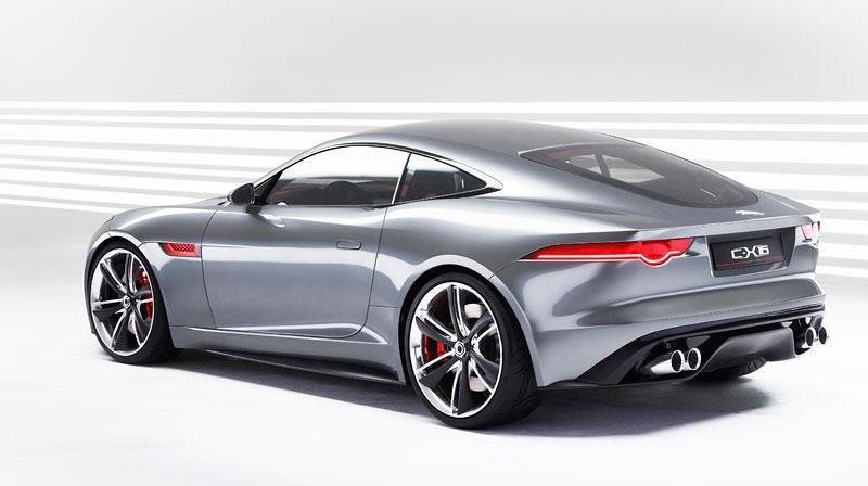 Jaguar ve Frankfurtu představí C-X16 16