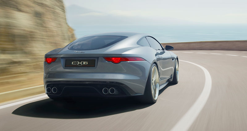 Jaguar ve Frankfurtu představí C-X16 19