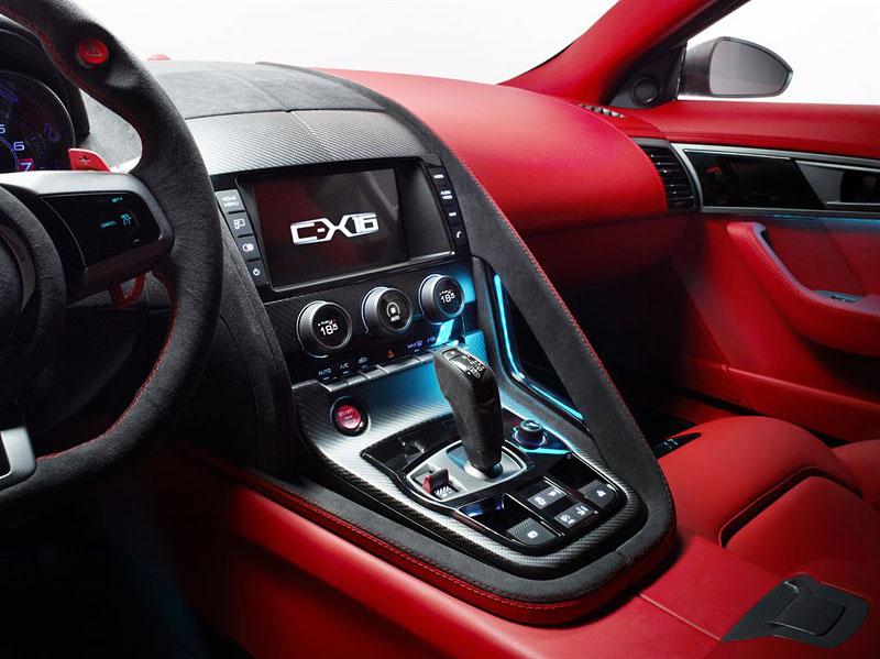 Jaguar ve Frankfurtu představí C-X16 2