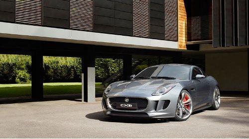 Jaguar ve Frankfurtu představí C-X16 nahled