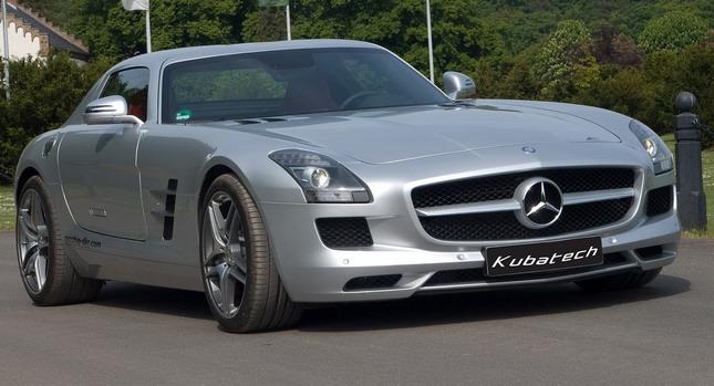 Kubatech dodal Mercedesu SLS AMG větší výkon 1