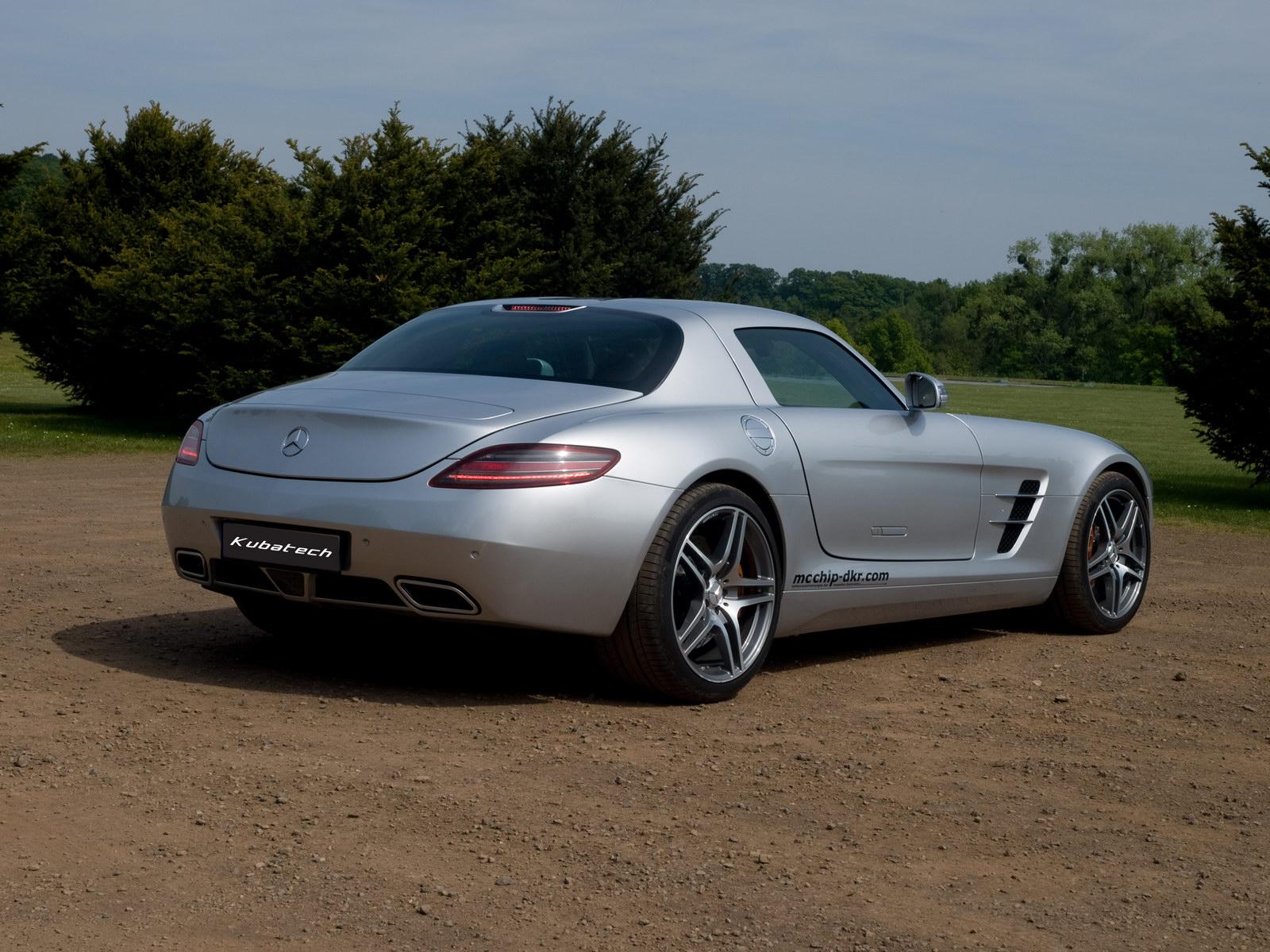 Kubatech dodal Mercedesu SLS AMG větší výkon 2