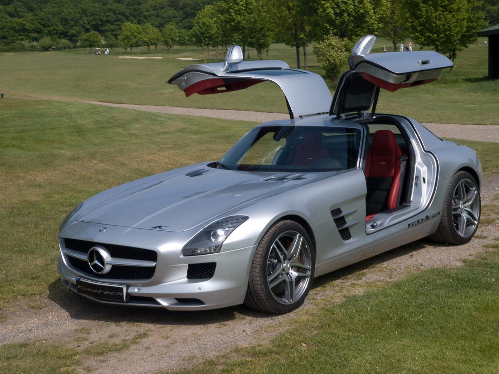Kubatech dodal Mercedesu SLS AMG větší výkon 3