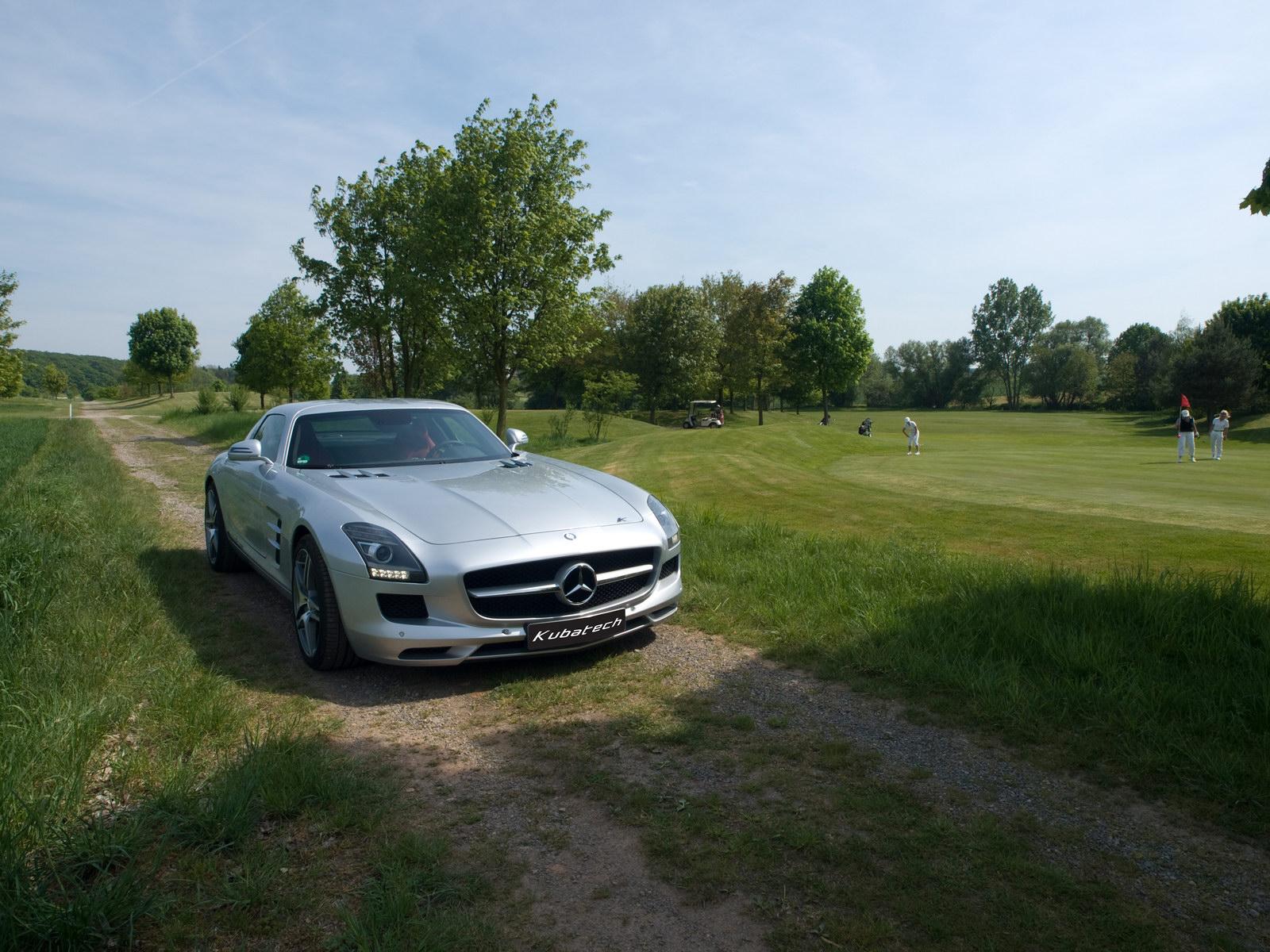 Kubatech dodal Mercedesu SLS AMG větší výkon 5