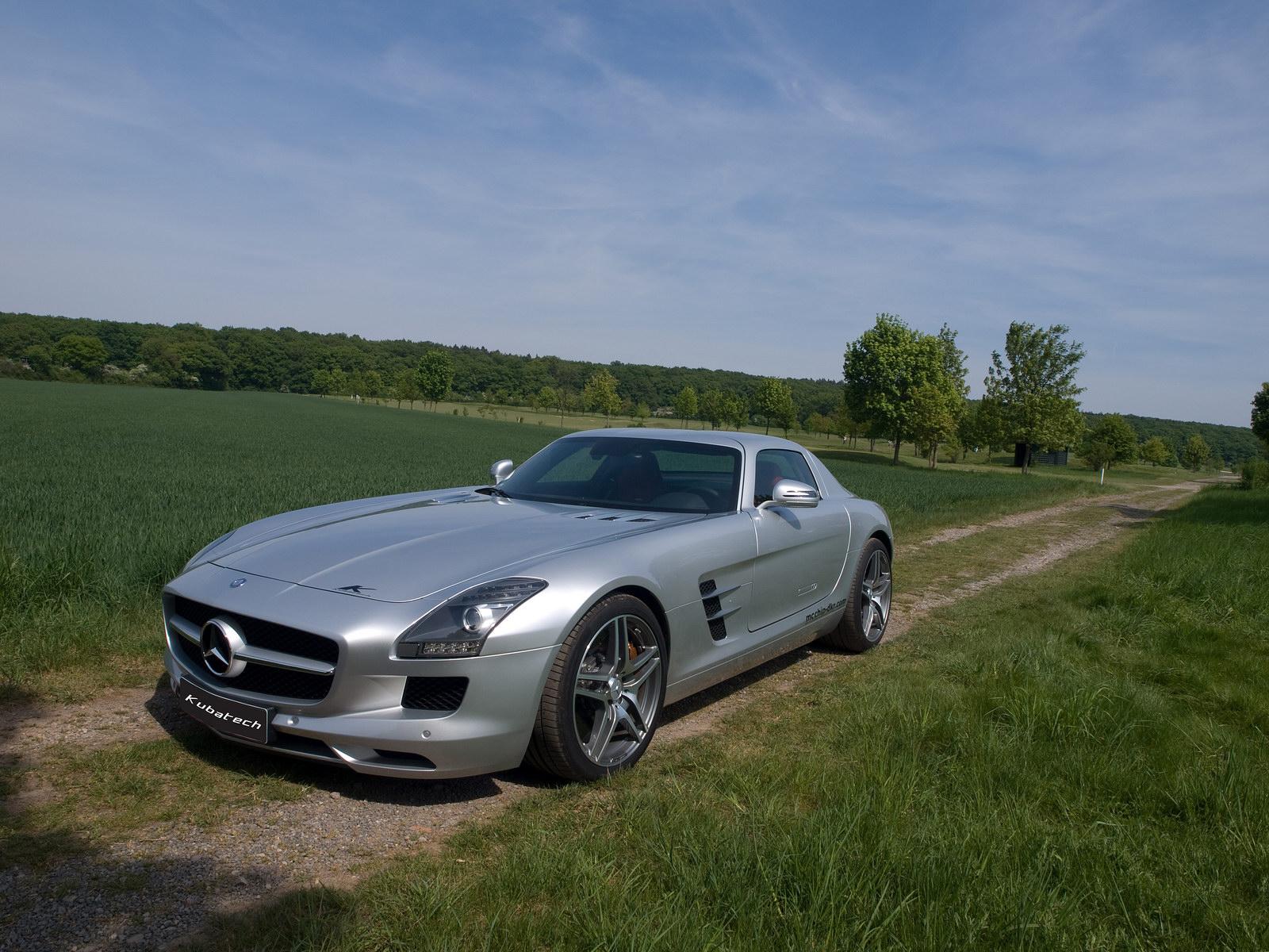 Kubatech dodal Mercedesu SLS AMG větší výkon 6