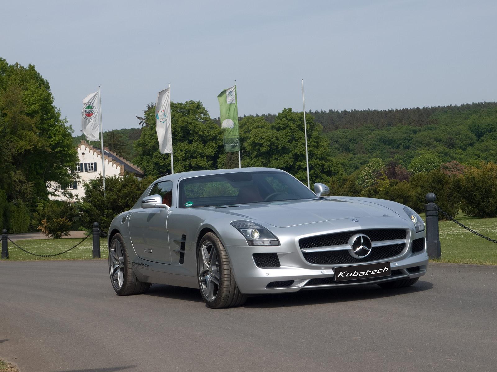 Kubatech dodal Mercedesu SLS AMG větší výkon 7