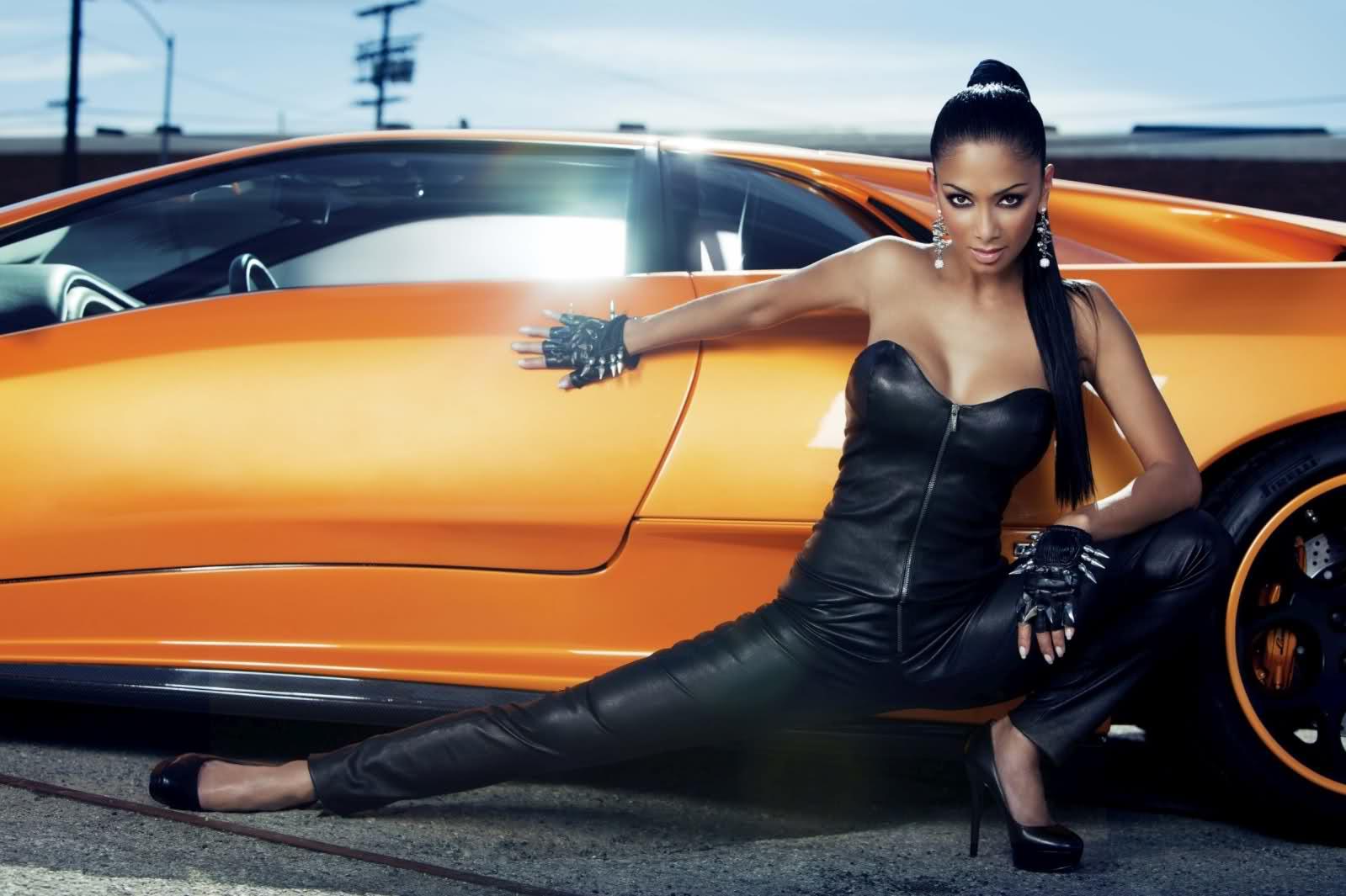 Lamborghini Diablo a Nicole Scherzinger 1