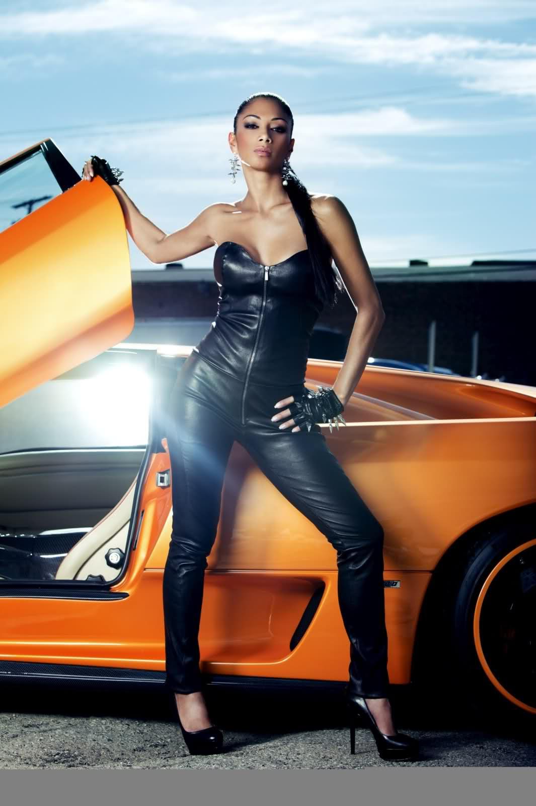 Lamborghini Diablo a Nicole Scherzinger 3