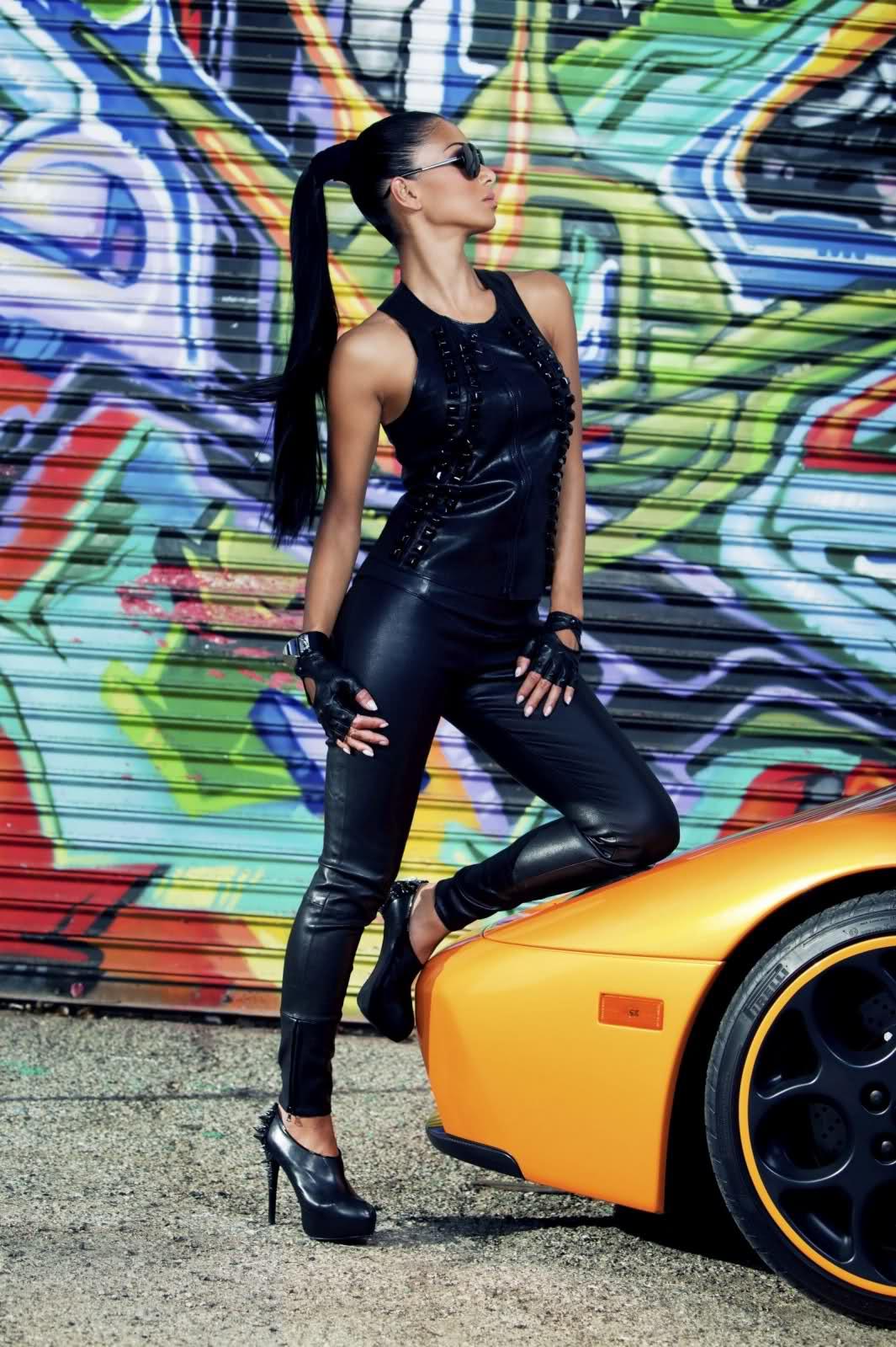Lamborghini Diablo a Nicole Scherzinger 5