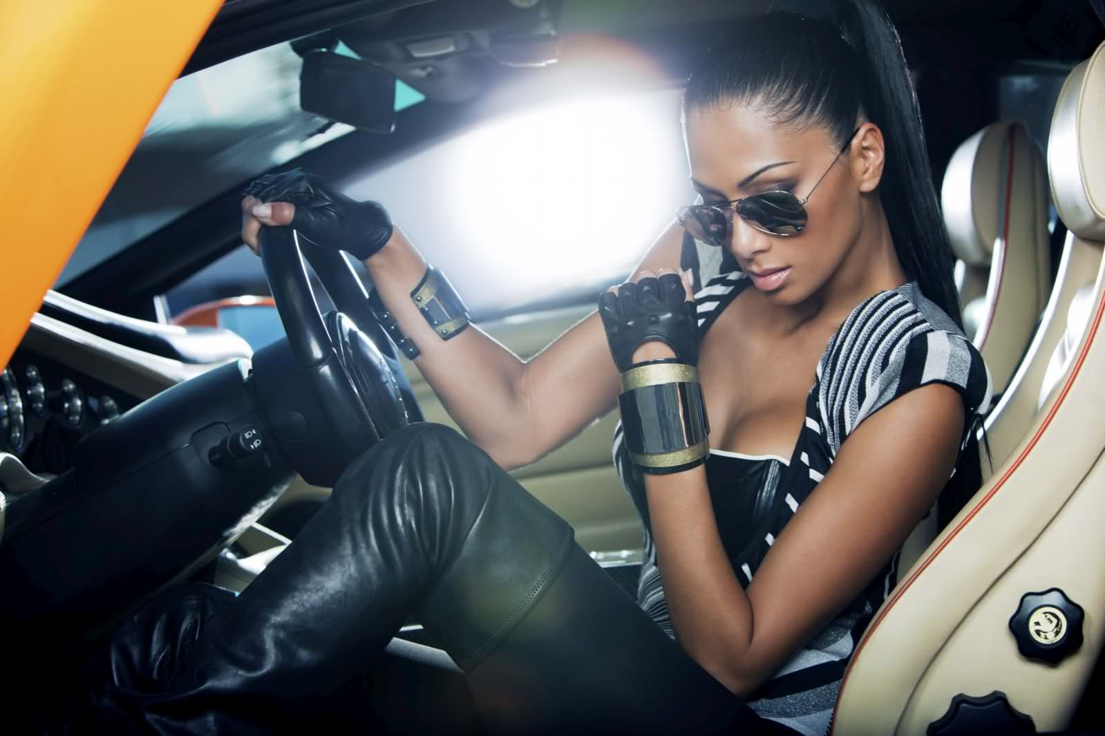 Lamborghini Diablo a Nicole Scherzinger 7