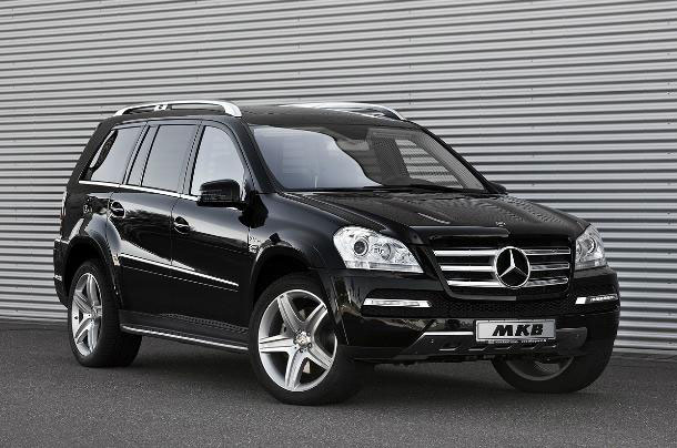 MKB P 670 - nadopovaný Mercedes GL 3