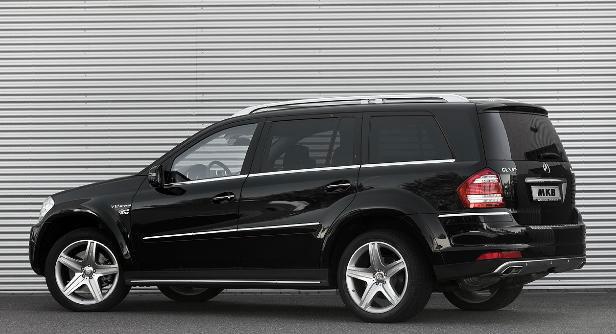 MKB P 670 - nadopovaný Mercedes GL 6