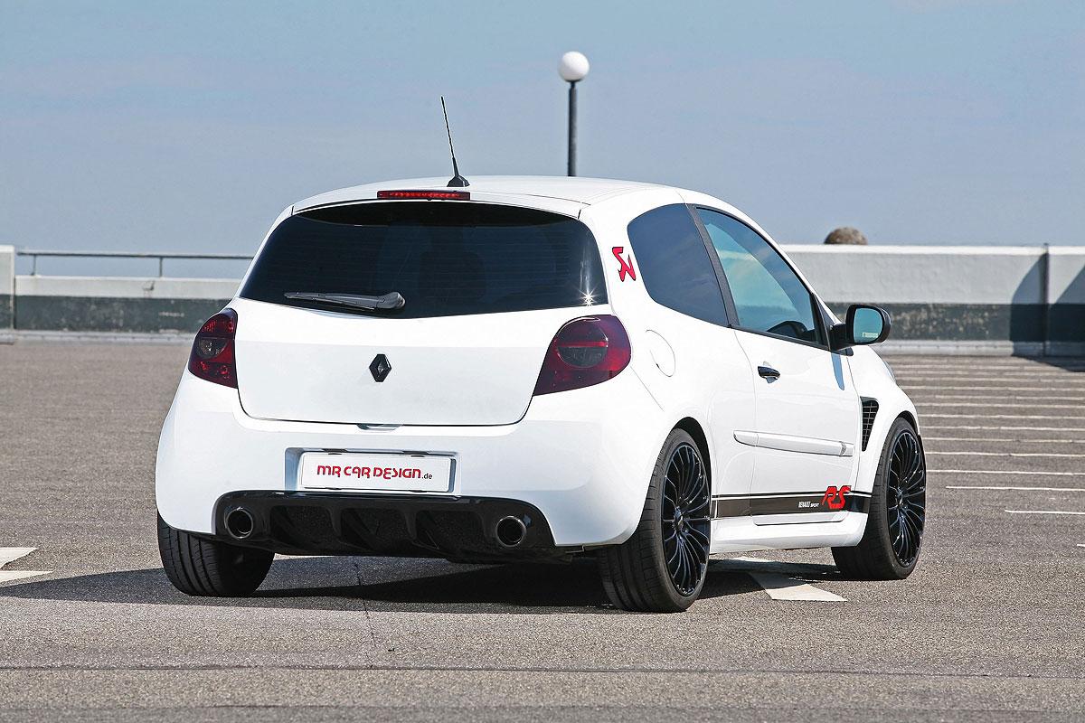 MR Car Design představil úpravy pro Renault Clio RS 4