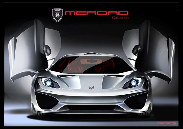 McLaren MP4-12C jako MehRon GT od Merdad Collection 1