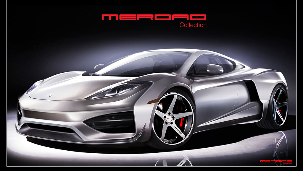 McLaren MP4-12C jako MehRon GT od Merdad Collection 2