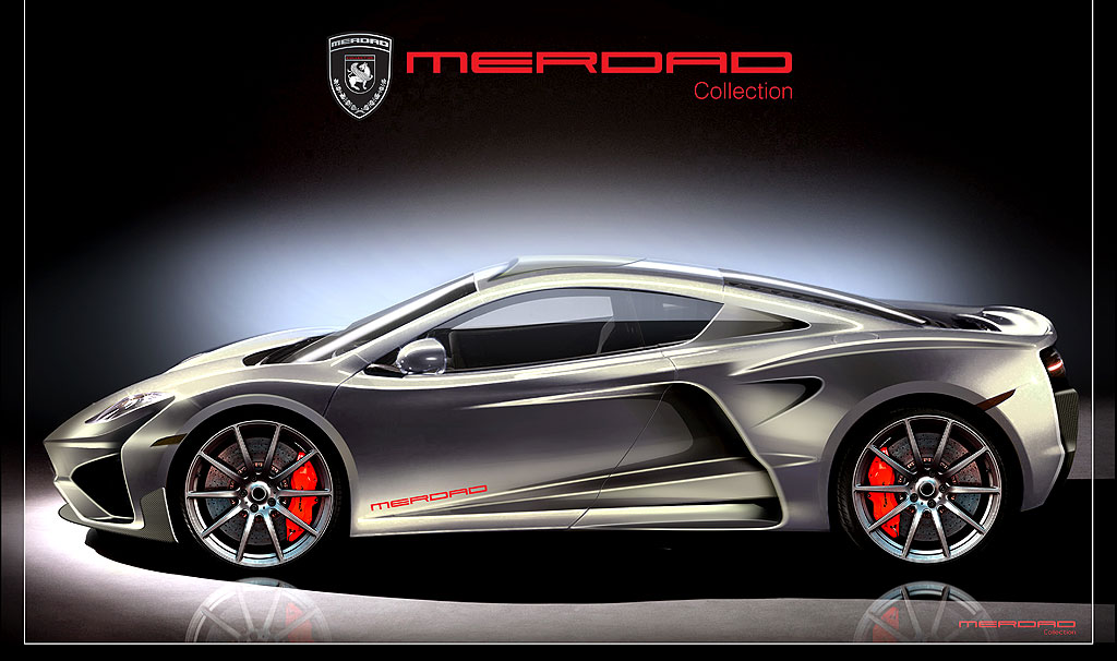 McLaren MP4-12C jako MehRon GT od Merdad Collection 3