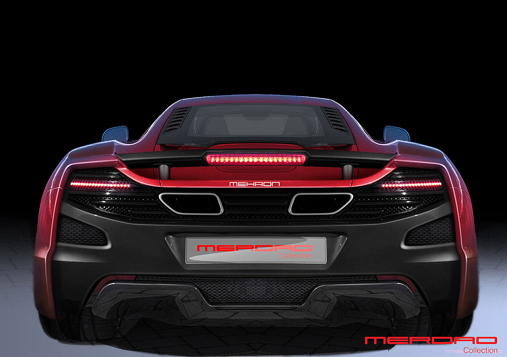 McLaren MP4-12C jako MehRon GT od Merdad Collection 6