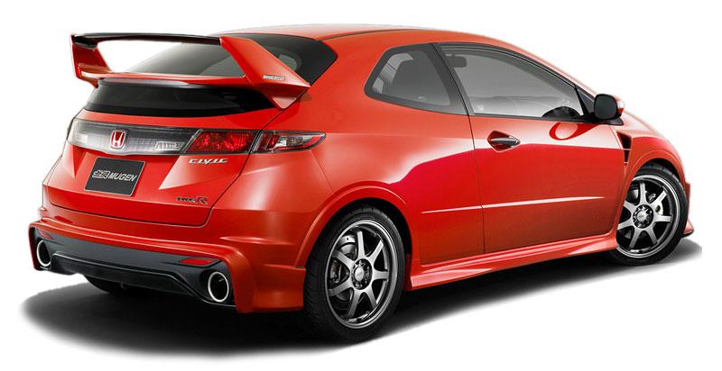 Mugen poladil svůj předchozí Civic Type R Mugen 5