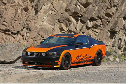 Germans In World Design Customized Ford Mustang Gt