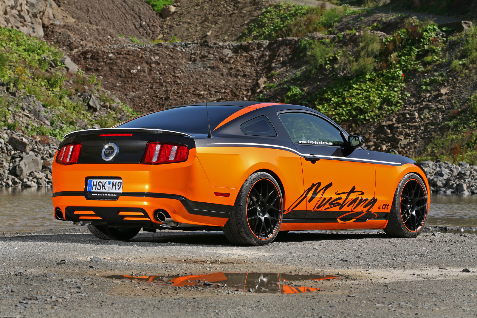 Němci z Design World upravili Ford Mustang GT 4