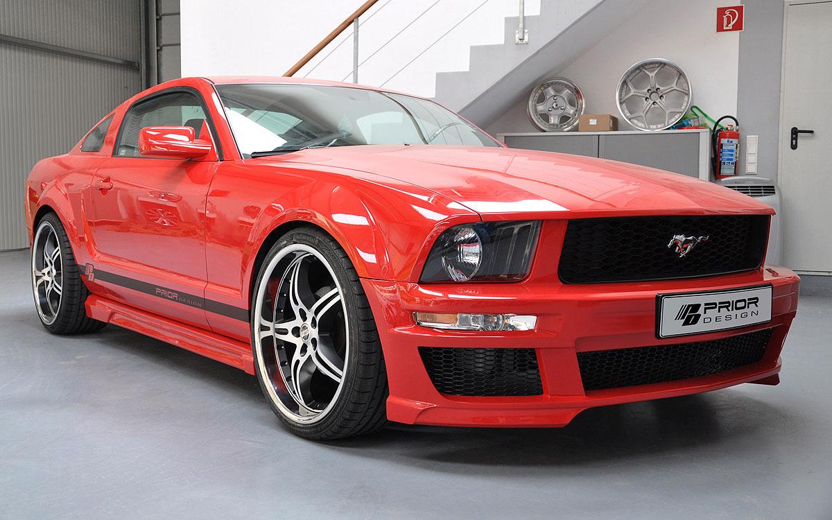 Nový aerodinamický kit pro Ford Mustang 2