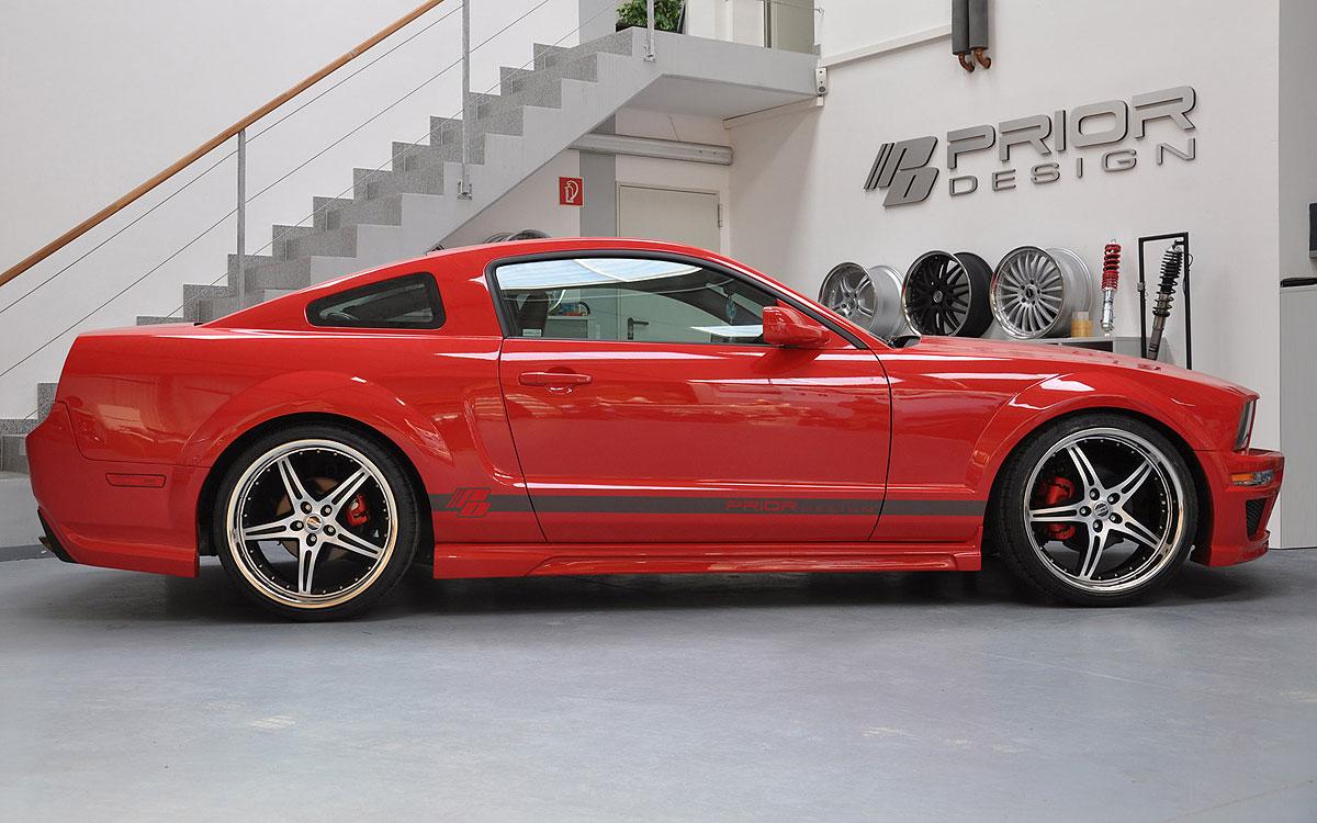 Nový aerodinamický kit pro Ford Mustang 3