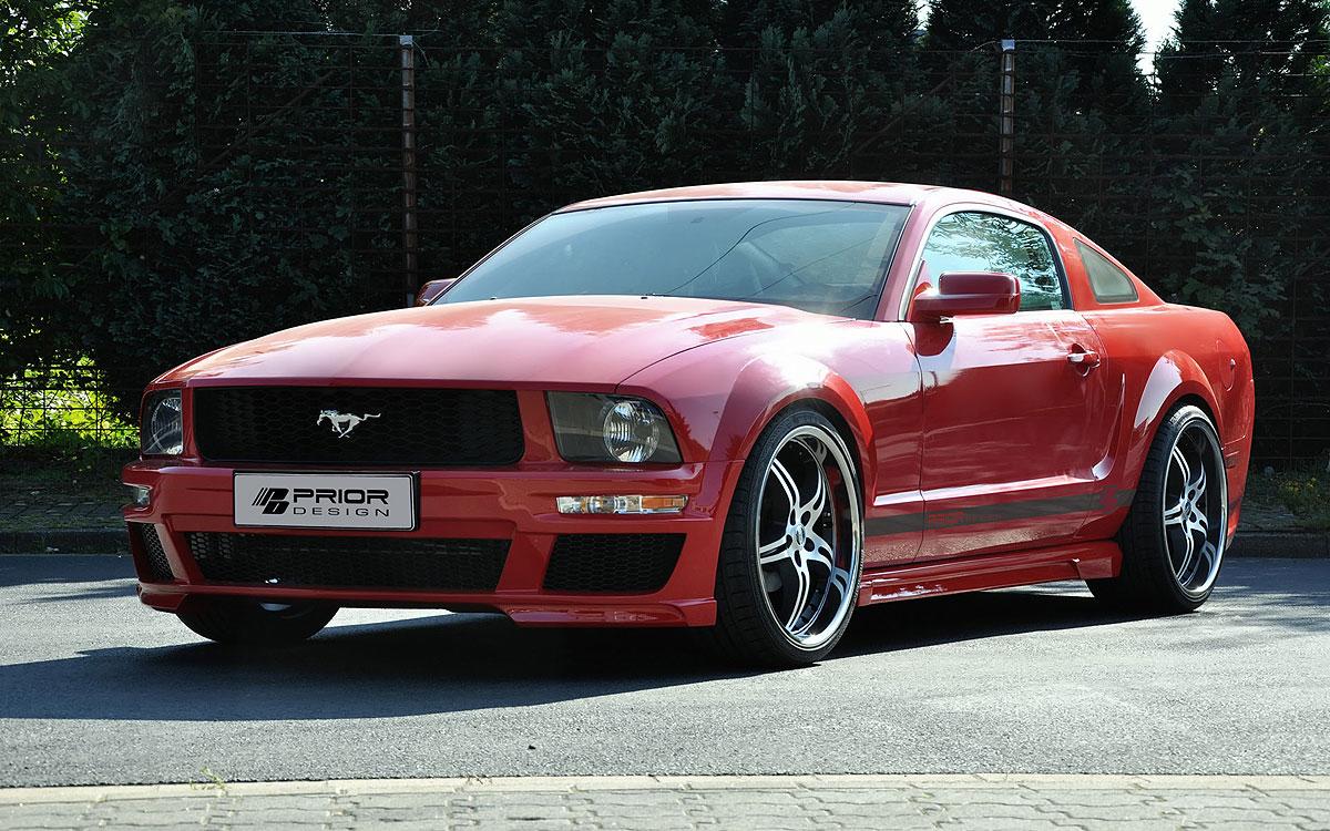 Nový aerodinamický kit pro Ford Mustang 4