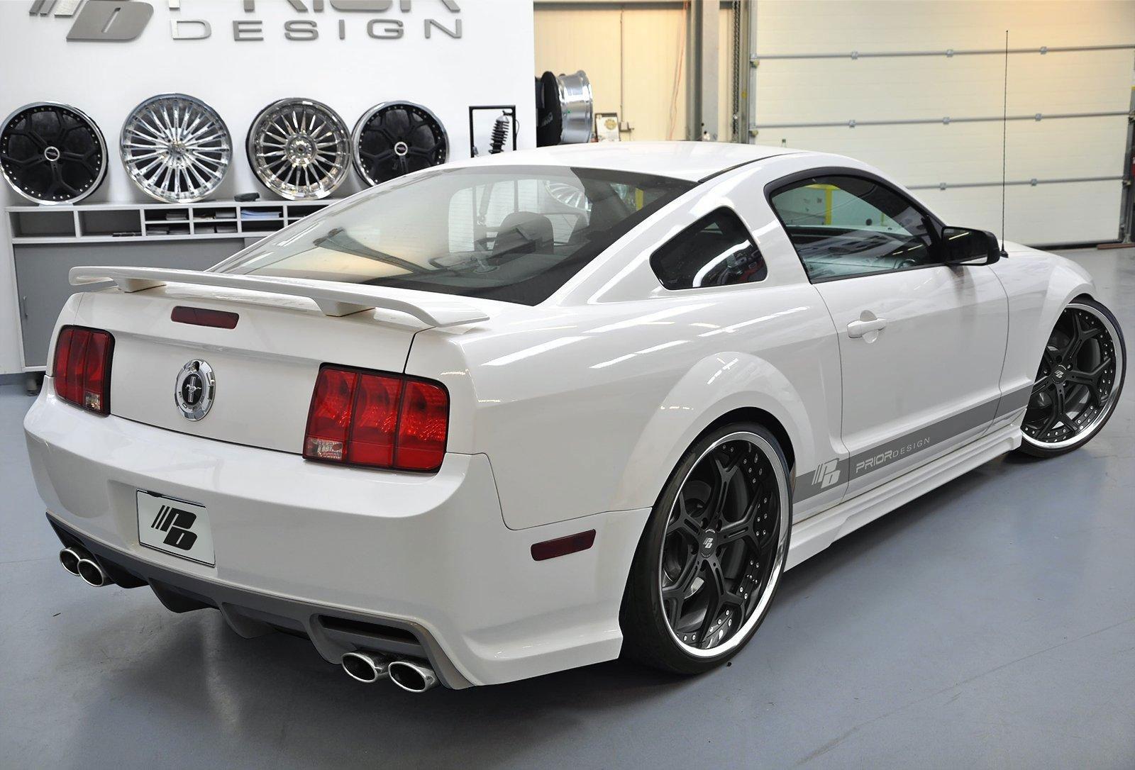 Nový aerodinamický kit pro Ford Mustang 8