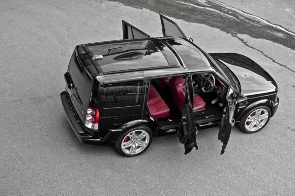 Project Kahn představuje Land Rover Discovery Black Edition 1
