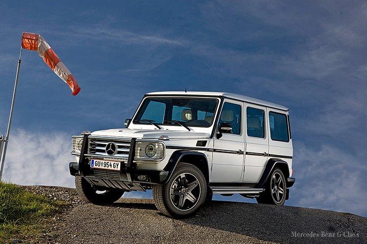 Arabské vozítko Mercedes-Benz G Arabia 100 pro náročné 1