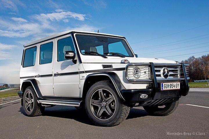 Arabské vozítko Mercedes-Benz G Arabia 100 pro náročné 3
