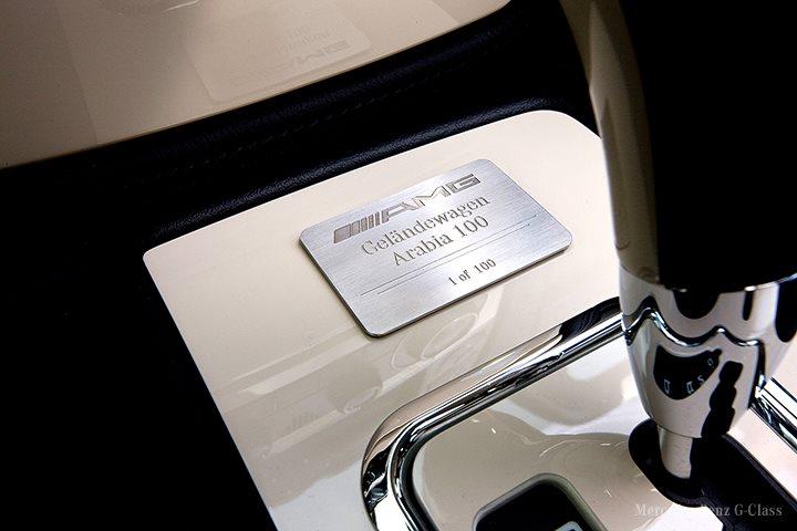 Arabské vozítko Mercedes-Benz G Arabia 100 pro náročné 8