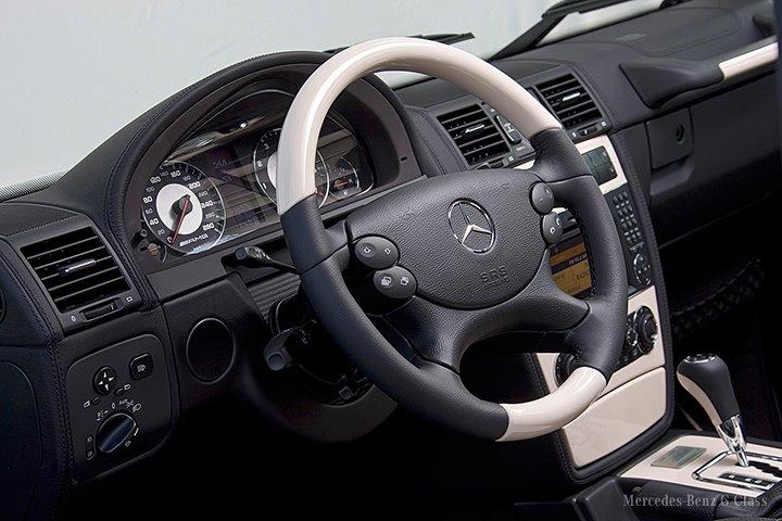 Arabské vozítko Mercedes-Benz G Arabia 100 pro náročné 9