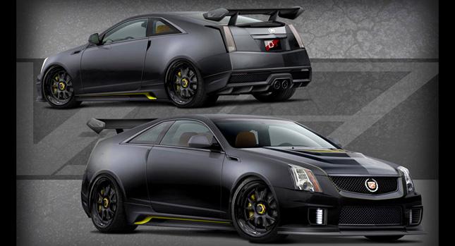 Cadillac CTS-V Coupe Le Monstre s monstrózním výkonem 1001 koní 1