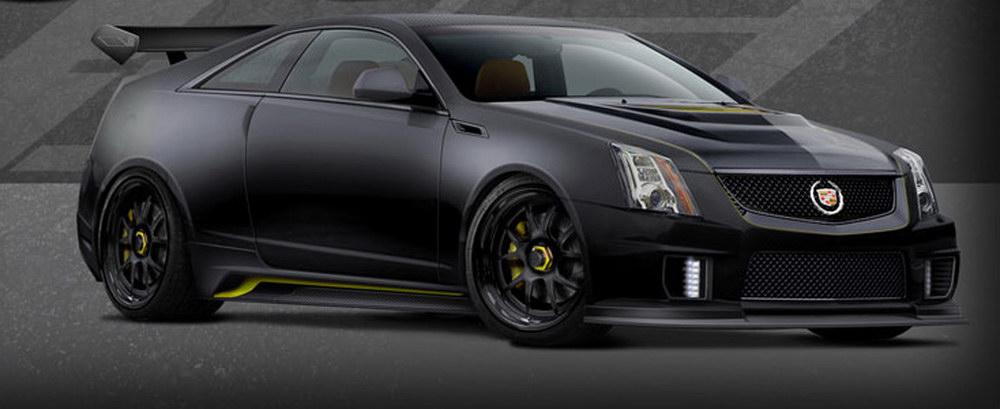 Cadillac CTS-V Coupe Le Monstre s monstrózním výkonem 1001 koní 2