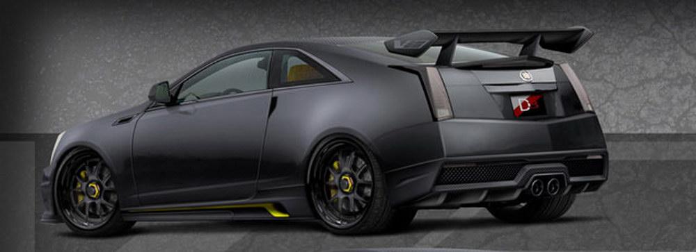 Cadillac CTS-V Coupe Le Monstre s monstrózním výkonem 1001 koní 3