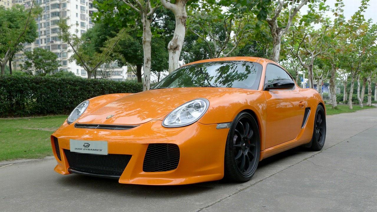 Duke Dynamics dodali nový vzhed pro Porsche Cayman S 2
