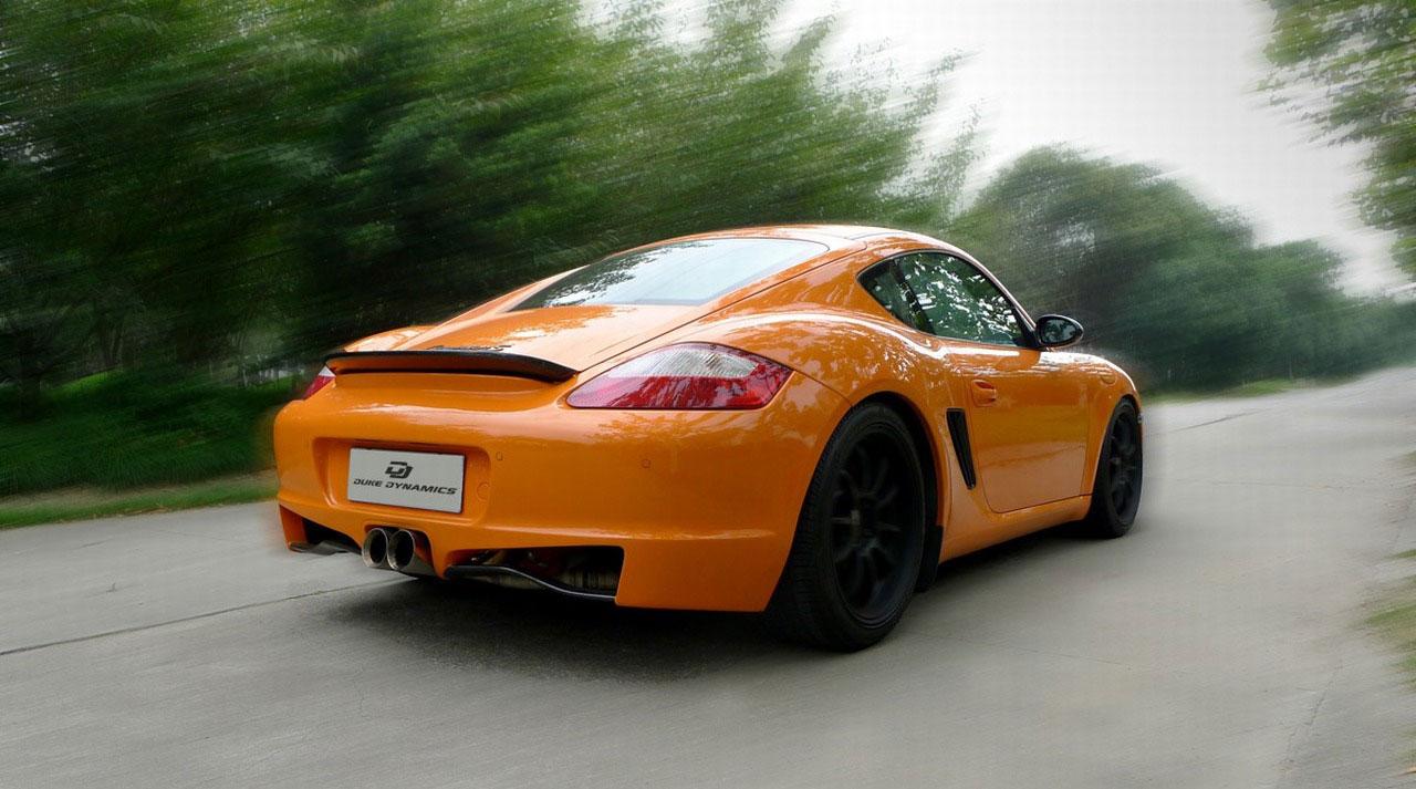 Duke Dynamics dodali nový vzhed pro Porsche Cayman S 6
