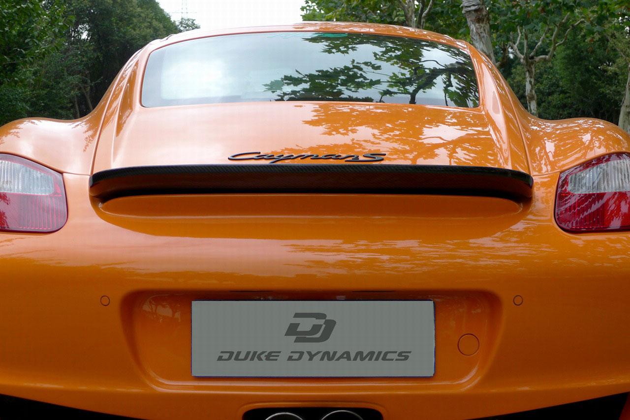 Duke Dynamics dodali nový vzhed pro Porsche Cayman S 8