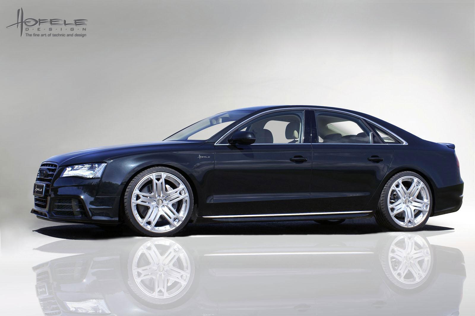 Hofele Design elegantně upravil Audi A8 4