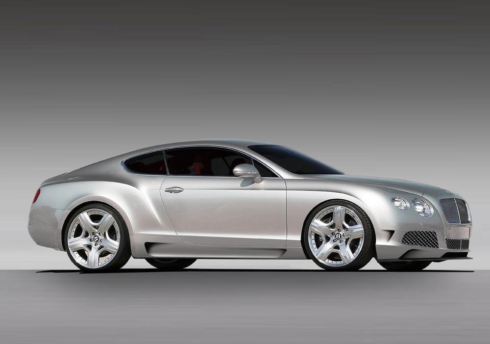 Imperium dodali nový styl pro Bentley Continental GT 4