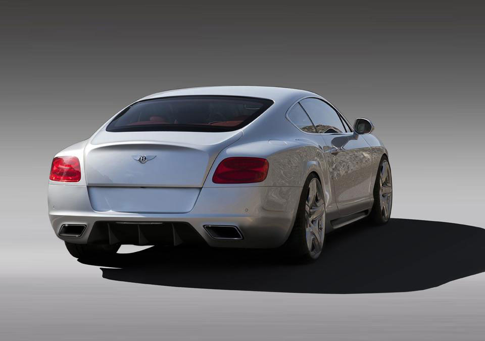 Imperium dodali nový styl pro Bentley Continental GT 5