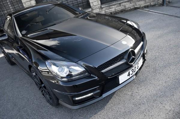 Project Kahn Mercedes-Benz SLK 200 s výkonem od Brabusu 1