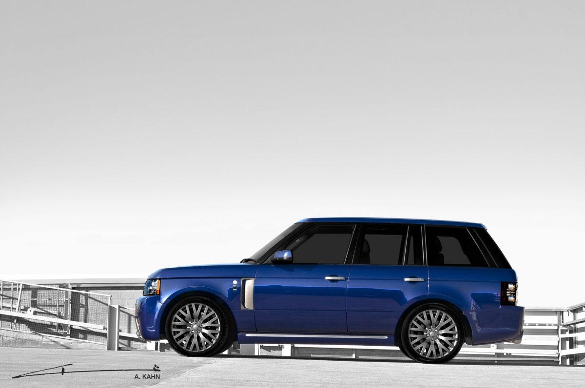 Project Kahn představil Bali Blue RS450 Range Rover Vogue 4
