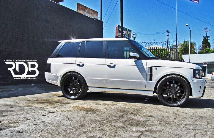 Range Rover s novým vzhledem od RDB 3