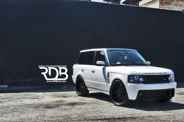 Range Rover s novým vzhledem od RDB 4